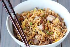 Pork Fried Rice | gimmesomeoven.com