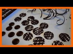 5 Schokoladen dekorationen selber herstellen - 5 Leckere Dekorationen aus Schokolade - Kuchenfee - YouTube