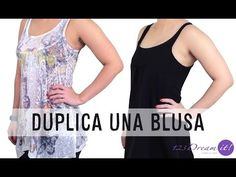 How to duplicate a blouse Sewing Hacks, Sewing Projects, Couture, Refashion, Plus Size, Tank Tops, Blouse, Pattern, Outfits