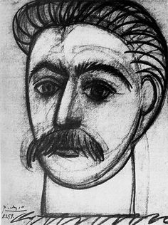 Sketch of Stalin, by Picasso