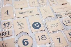 Free Printable Advent Calendar or Christmas Countdown Tags - simple as that