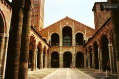 Milan, Italy saint Ambrogio medieval basil. #myhomeinmilan