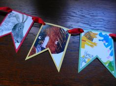 Eric Carle Banner by FurloughedTime on Etsy, $20.00