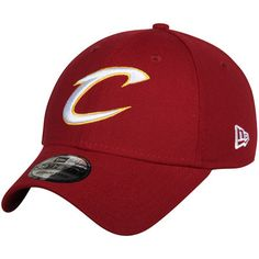 eb8fde60e80a3 Cleveland Cavaliers New Era Team Classic 39THIRTY Flex Hat - Wine Cleveland  Cavaliers Hats