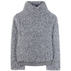 Vika Gazinskaya Turtleneck Sweater (€355) ❤ liked on Polyvore featuring tops, sweaters, clothing - ls tops, long sleeved, grey, turtleneck tops, gray sweater, long sleeve sweater, grey turtleneck sweater and grey turtleneck