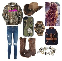 Designer Clothes, Shoes & Bags for Women Redneck Outfits, Cowgirl Style Outfits, Western Outfits Women, Country Style Outfits, Southern Outfits, Country Wear, Country Fashion, Teen Girl Outfits, Fall Outfits