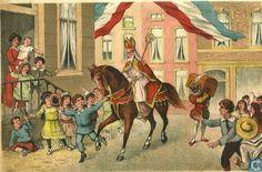 'Illustratie' uit het boekje St. Nicolaas en zijn knecht 1905