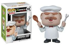 Funko's Muppets; Most Wanted Pop Vinyls - Swedish Chef