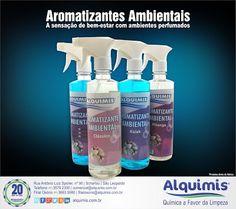 Alquimis Química Industrial: Aromatizante de Ambientes