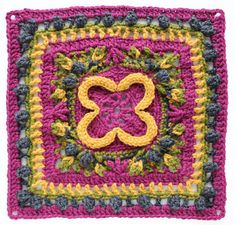 Lintukoto - Bird home crochet square pattern is part of the Kalevala CAL crochet-along. Kalevala CAL is a crochet blanket project with 24 different squares. Crochet Bunting, Crochet Blocks, Crochet Squares, Crochet Granny, Crochet Motif, Knit Crochet, Granny Squares, Crochet Square Patterns, Crochet Blanket Patterns