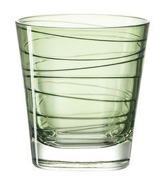 Buy the Whisky glass Vario from Leonardo, on Made in Design - 48 to 72 hours delivery. Spiral Pattern, Whisky, Shot Glass, Green, How To Make, Design, Products, Tumbler, Whiskey