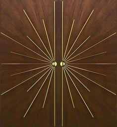 new Ideas modern main door design art deco Double Door Design, Main Door Design, Wooden Door Design, Art Deco Stil, Modern Art Deco, Hacks Ikea, Art Deco Door, Double Entry Doors, Art Deco Movement
