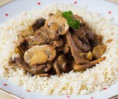 Stroganov je populárny pôvodom ruský pokrm, pripravený z kvalitného hovädzieho…
