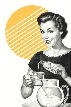 Vintage Advertisements, Vintage Ads, Vintage Posters, Vintage Ephemera, Images Vintage, Retro Images, Vintage Housewife, Vintage Drawing, Pulp Art