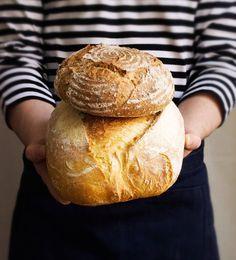 100% Durum Wheat Semolina Bread & Wheat and Spelt bread #sourdough #bread #homemade #homemadebread