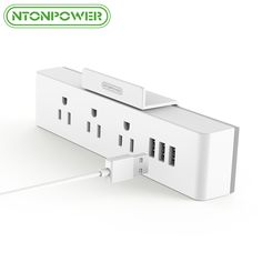 NTONPOWER Portable 3 USB Wall Charger  3 AC Outlets US Plug Socket //Price: $17.49 & FREE Shipping //     #hashtag3
