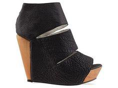 Messeca Coraline Wedge Platform Sandals Black Jeffrey Campbell Solestruck Punk 6