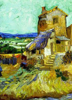 DecoArt24.pl - Art by Vincent Van Gogh #art #artpainting #painting #abstraction #inspiration