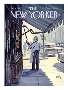 The New Yorker - Illustration by Arthur Getz - July 8, 1967