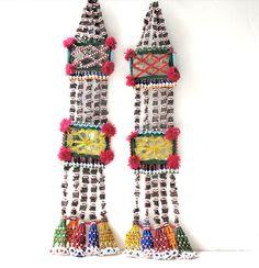 Vintage Tribal Tassel Necklace Lariat from Afghanistan. via Etsy.