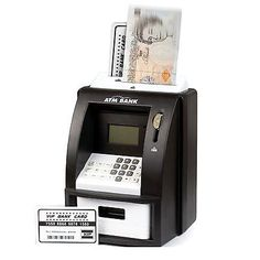 Atm mini money saver machine #piggy bank digital #display #counter notes & coins,  View more on the LINK: 	http://www.zeppy.io/product/gb/2/262115946680/