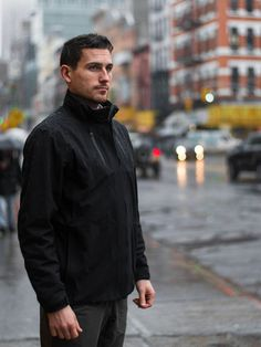 The Cubed Travel Jacket™: A Waterproof Shell for Everyday