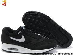 on sale 4405d 2bbd8 Discount 33212-001 Mens Black White Nike Air Max 1 Sports Shoes Store Nike  Air