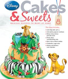 Hakuna Matatta! Issue 8 means no worries, for the rest of your days. #disneycakesandsweets