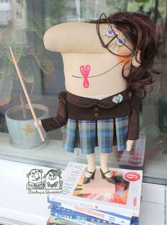 Коллекционные куклы ручной работы. Учительница первая моя. Эльвира Шиленко…