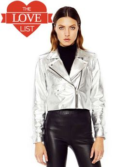 Punch Jacket in Silver, $905 at Veda