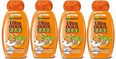 Garnier – Ultra DOUX Enfants Abricot et Fleur de Coton – Shampooing 400ML – Lot de 4: Pour faciliter le coiffage et faire du shampooing des…