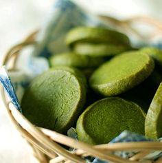 Galletitas de té verde Matcha