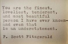 F. Scott Fitzgerald to Zelda Fitzgerald, 1939: Dear Scott, Dearest Zelda: The Love Letters of F.Scott and Zelda Fitzgerald