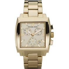Great gold watch. Love the square face