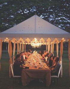 A RAJ tent provides shelter from the hot sun during the day and from the occasional rain showers. It also provides necessary lighting at a dark wedding venue wedding tent small Marquee Wedding, Tent Wedding, Our Wedding, Snow Wedding, Wedding Seating, Wedding Decor, Dream Wedding, Wedding Reception Ideas, Wedding Venues