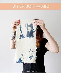 Make It: Reverse Indigo Shibori Tie-Dye From Old Jeans