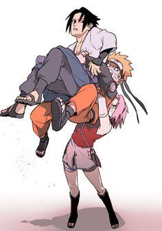 Sakura ama o sasuke sakuke ama o naruto e a Sakura ficou arrombada assim mano a mina e braba Naruto Team 7, Naruto Kakashi, Anime Naruto, Fan Art Naruto, Naruto Comic, Naruto Cute, Naruto Girls, Naruto Uzumaki Shippuden, Boruto
