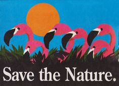 save the nature save the planet