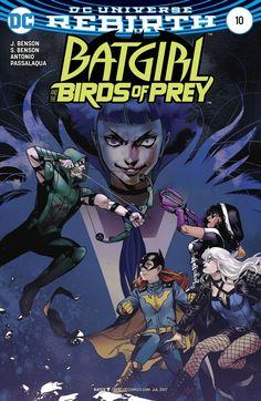 BATGIRL AND THE BIRDS OF PREY #10 VAR ED