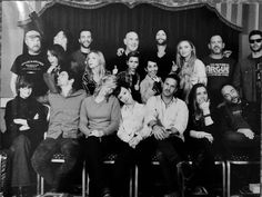 Official Asylum 16 group photo. Hillywood!!! I love this!