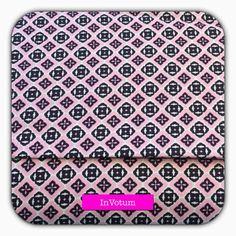 Baumwoll Stoff mit Ornamenten in rosa, 50 cm von InVotum auf Etsy