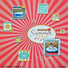 Summer Lovin' - Scrapbook.com Photoplay Bucket List