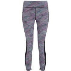 Sweaty Betty Halasana Reversible 7/8 Yoga Leggings ($125) ❤ liked on Polyvore featuring activewear, activewear pants, bottoms, pants, leggings, 39. gym wear., lapaspacedye, sweaty betty, tall activewear and yoga activewear