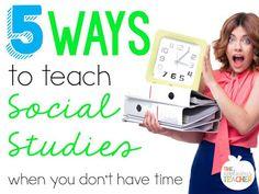 5 Ways to Teach Soci