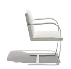 The Brno Chair! .. in flat bar edition also designed by Rohe for Knoll (for Tugendhat family in Brno, 1930) .. designed especially for the bedroom.. love its clean elegant lines and its meticulous attention to every detail!