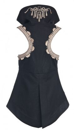 Starboard. kat von d has a clothing line? Um when did this happen? sweet. wants this vest so hard