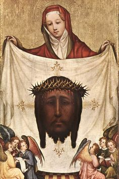 Tetramorph: Master of Saint Veronica: Saint Veronica the shroud