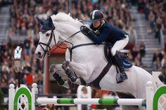 L'Irlandaise Jessica Kürten au Saut Hermès 2012 avec son talentueux cheval Api Largo.