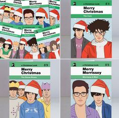 There are plenty of card options out there, but none quite like these wonderful alternative music Christmas cards by Piper Gates Design. Christmas Cards, Merry Christmas, Stone Roses, Alternative Music, Gates, Design Inspiration, Illustrations, Xmas Cards, Merry Little Christmas