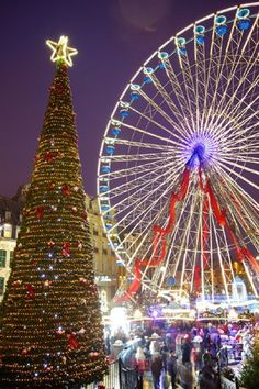 Grande Roue Noël Lille - © OTC Lille